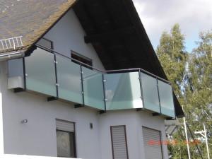 Schlosserei Erhard Gotz Balkongelander In Edelstahl